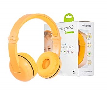 BUDDY PHONES PLAY- SAFARI YELLOW
