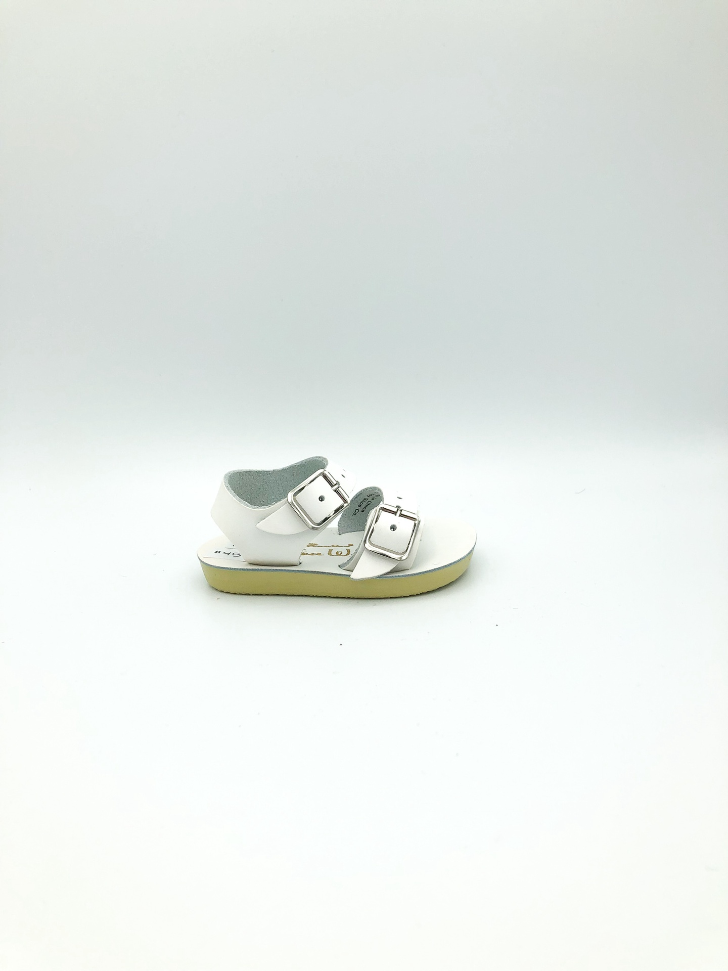 SALT WATER SANDALS - SEA WEES IN WHITE (INFANT 1-3)