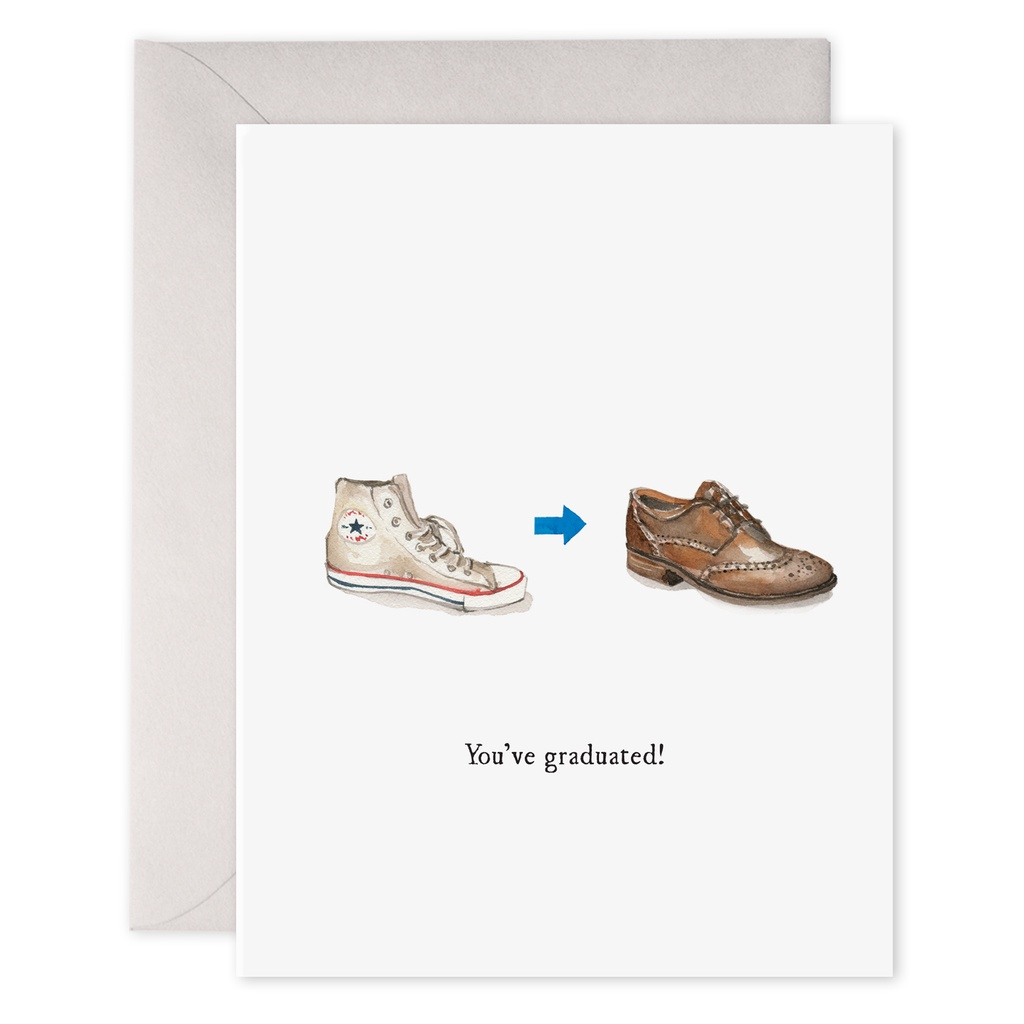 Grad Shoes Card