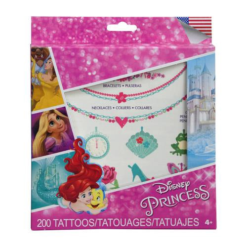 PRINCESS GLITTER TATTOO KIT