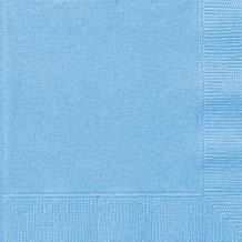 POWDER BLUE LUNCH NAPKINS