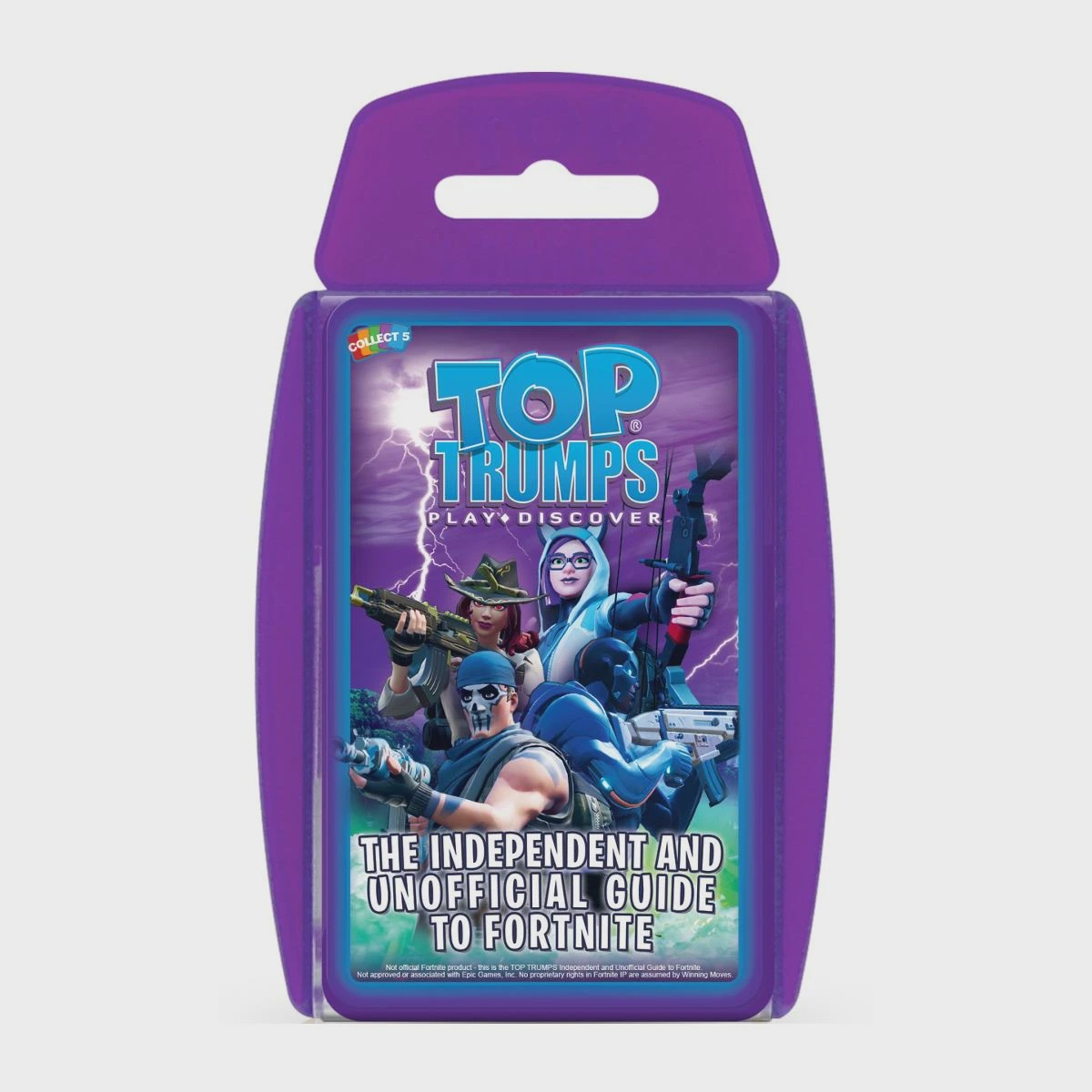 TOP TRUMPS INDEPENDENT AND UNOFFICIAL FORTNITE