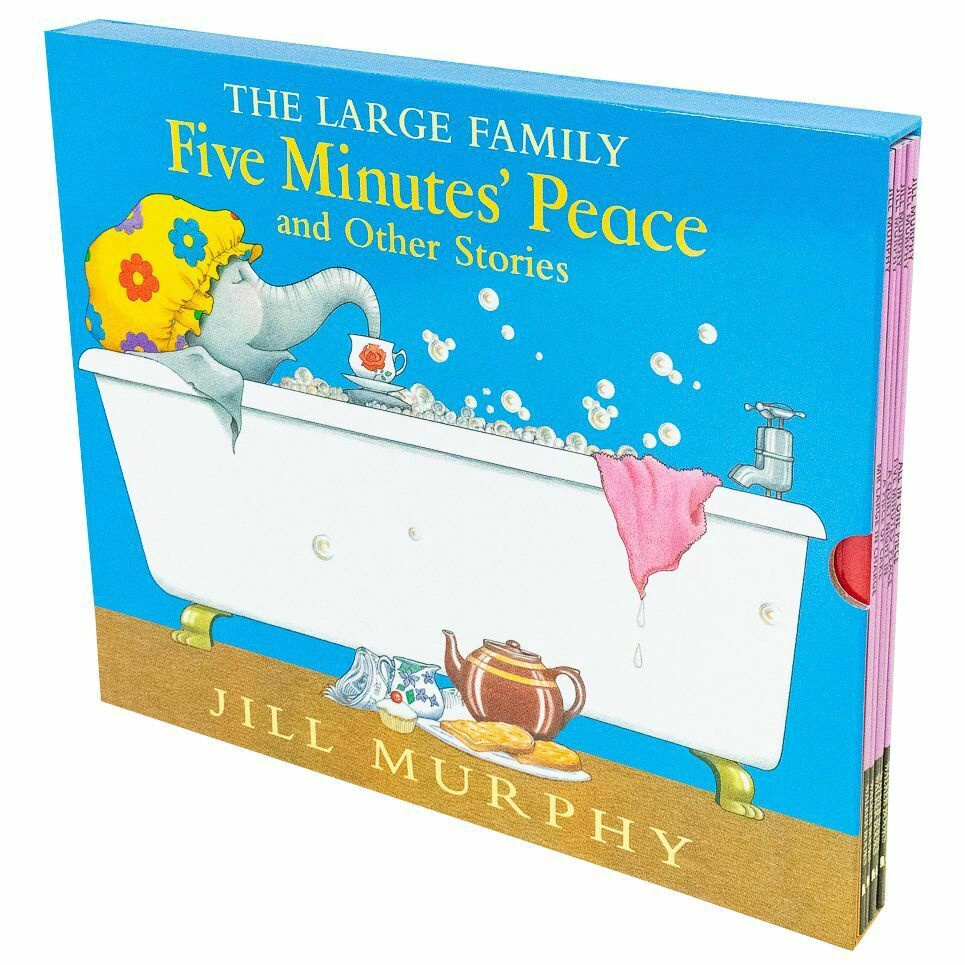 LARGE FAMILY FIVE MINUTES' PEACE AND OTHER STORIES SLIPCASE (5 BOOKS)