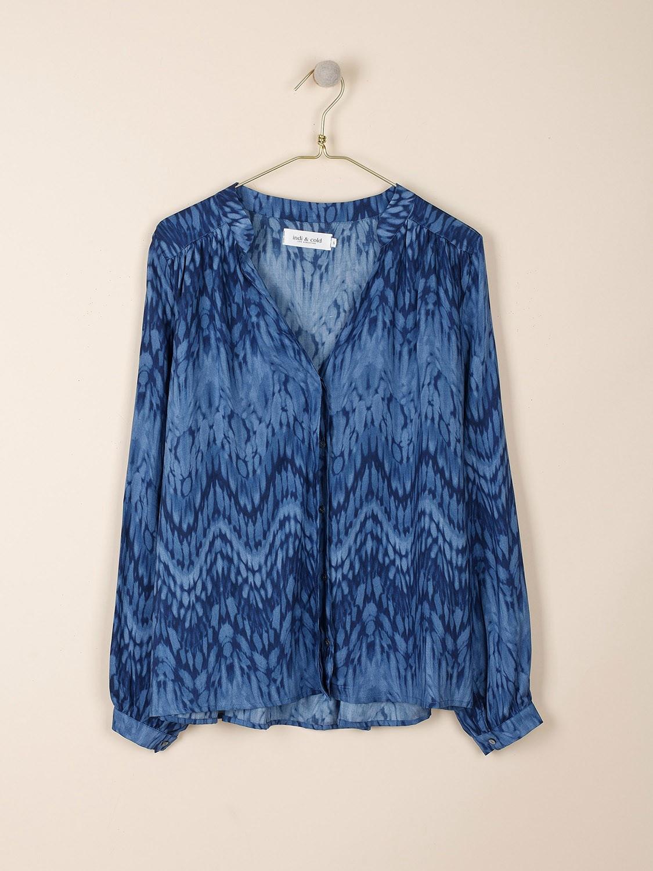 Tie Dye Effect printed tunic top