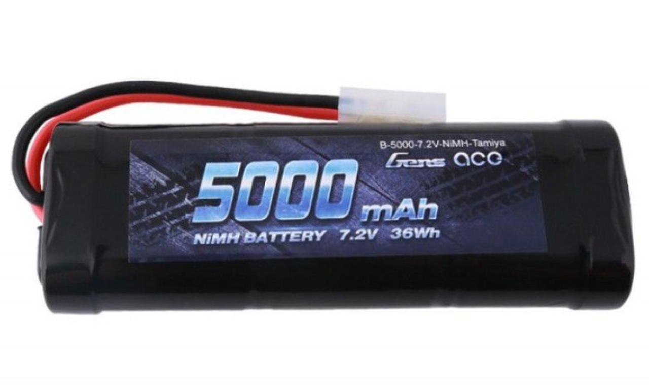 Gens-Ace #5000-7.2 NiMH with Tamiya Plug