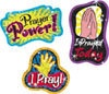 T 63712 PRAYER STICKERS