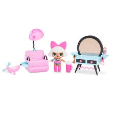 L.O.L SURPRISE FURNITURE BEAUTY SALON WITH DOLL