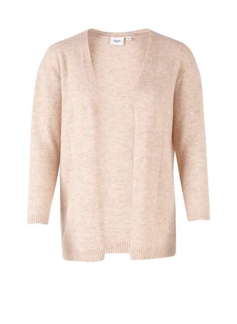 Beige Knit Cardigan by Saint Tropez