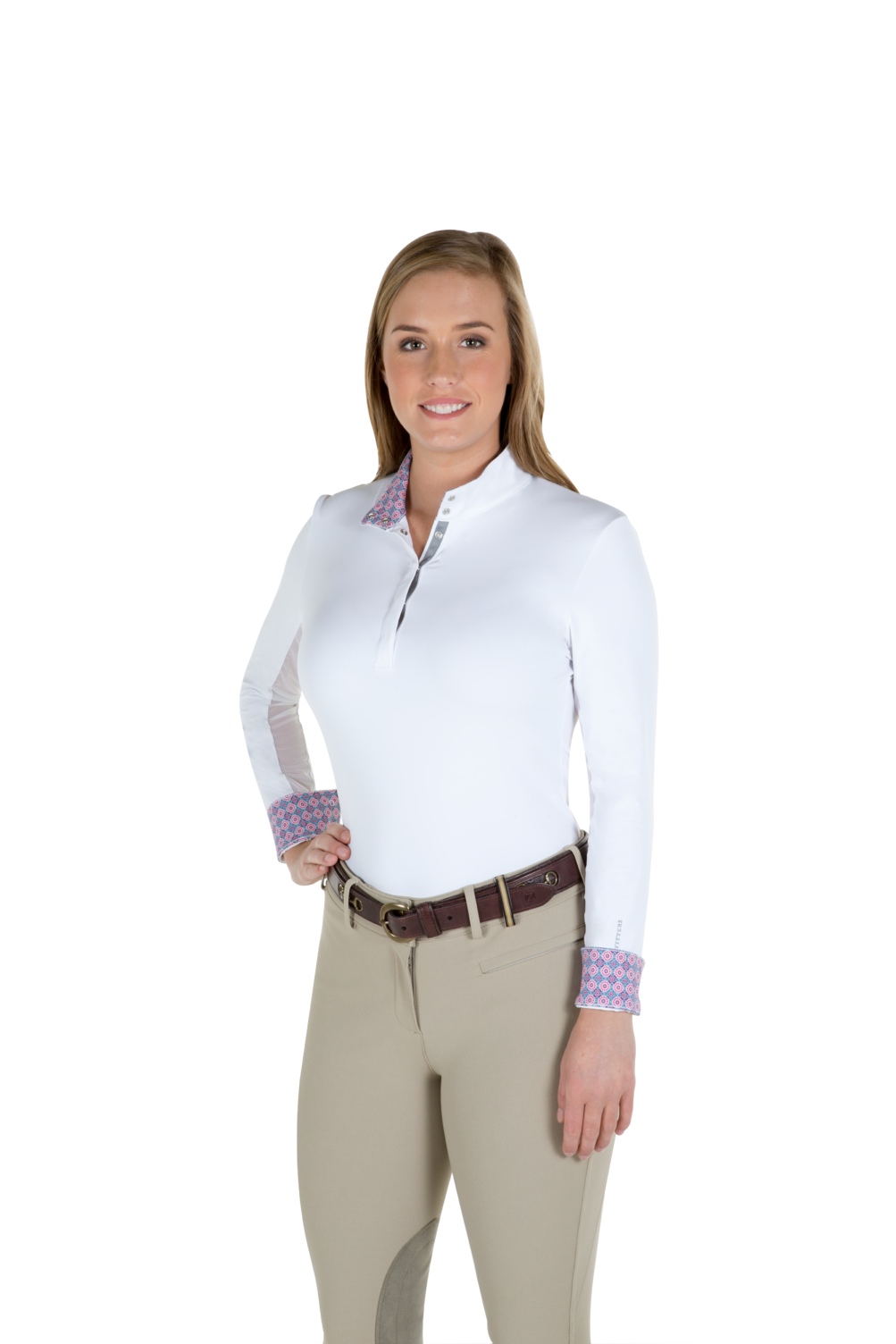 Noble Outfitters Victoria Pull On Show Shirt