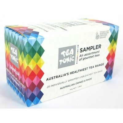 TEA TONIC SAMPLER BOX - 26 TEABAGS