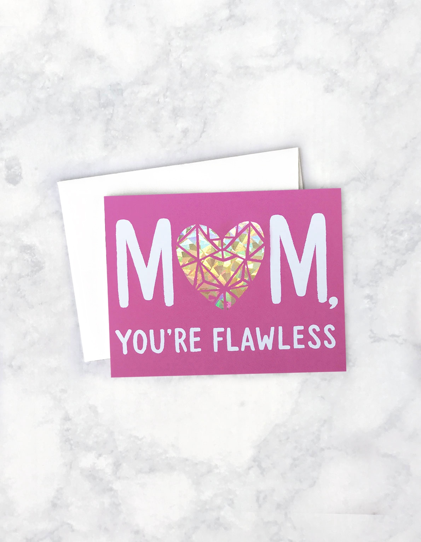 Flawless Greeting Card