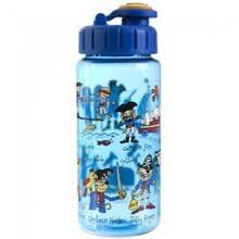 DRINKING BOTTLE WITH STRAW PIRATES