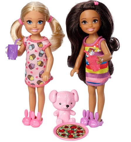 BARBIE CLUB CHELSEA DOLLS & ACCESSORY ASSORTMENT