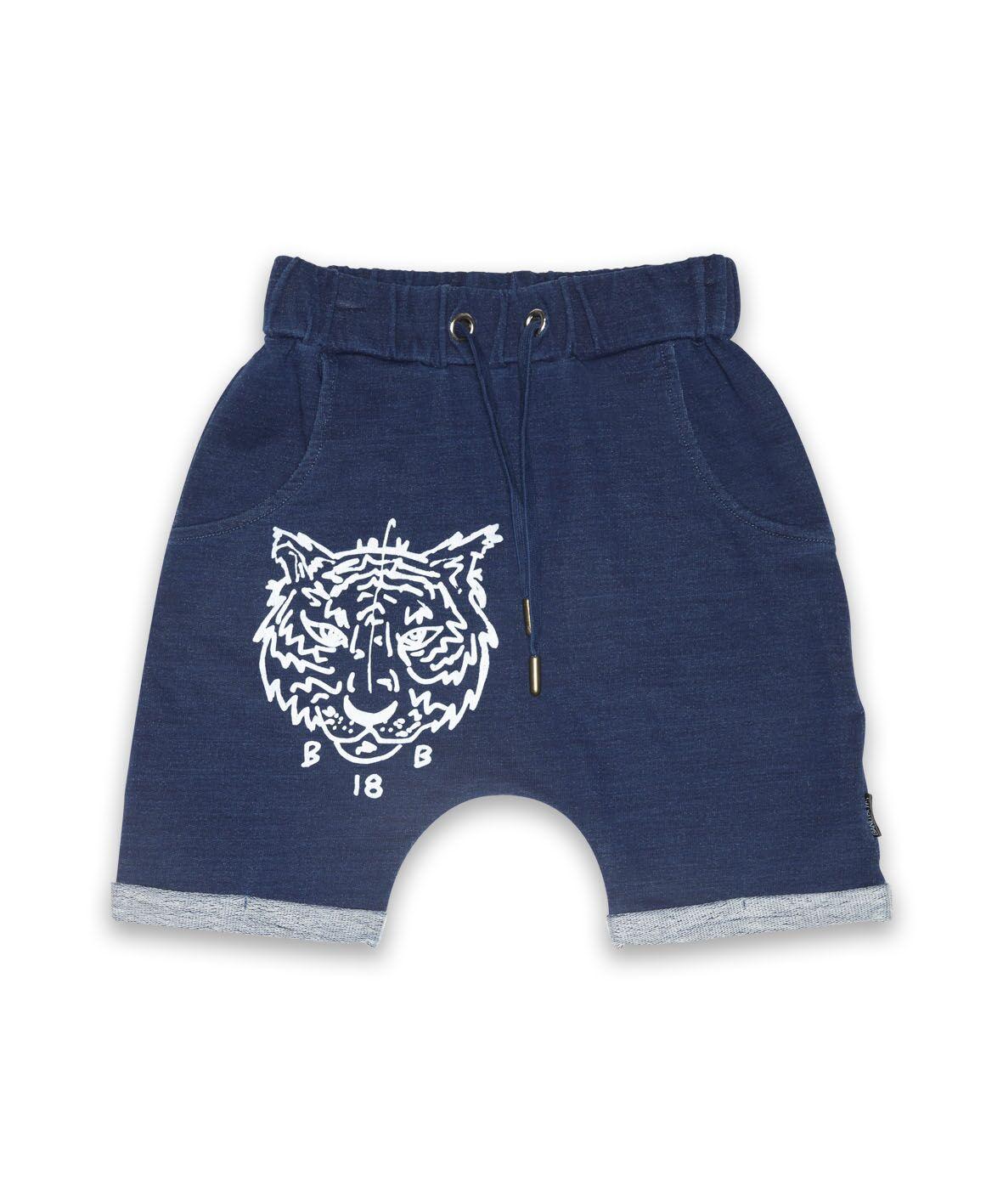 BOB BB18 Tiger Harem Shorts