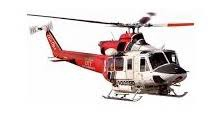 Italeri #70391 1/72 Bell 412 LA Fire Dept. Starter Set