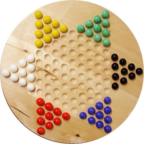 CHINESE CHECKERS WOOD
