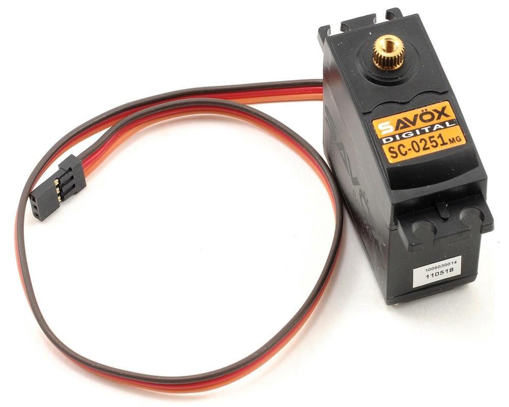 Savox #SC-0251MG Standard Digital Servo (16Kg)
