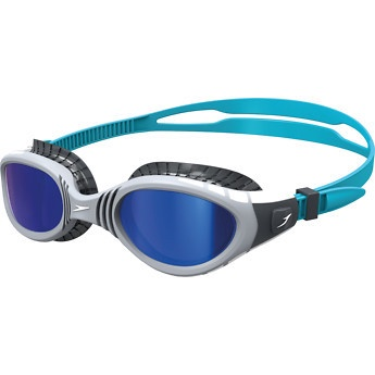 Futura Biofuse Flexiseal Mirror Goggles Charcoal/Grey/Blue Mirror