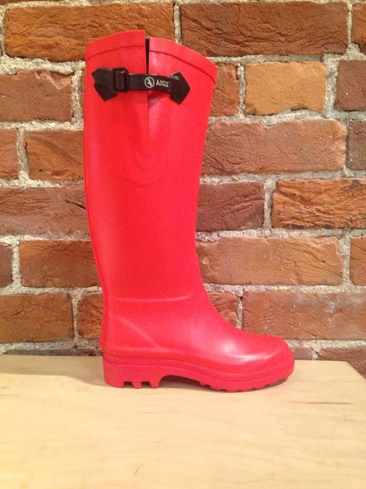 AIGLE - AIGLENTINE IN POPPY RED