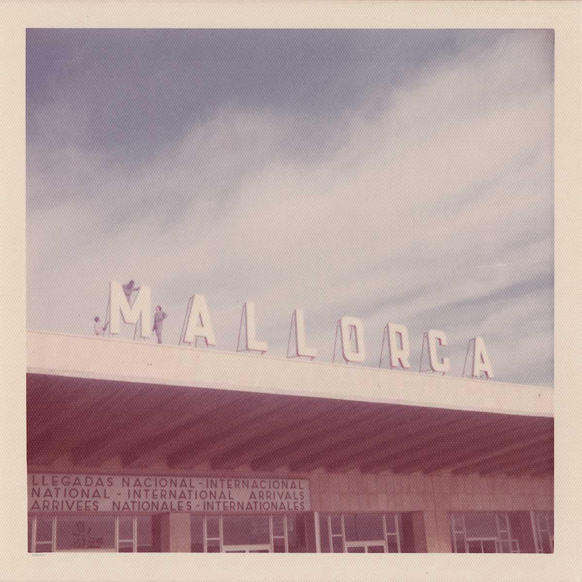 Mallorca Airport 1972 Polaroid