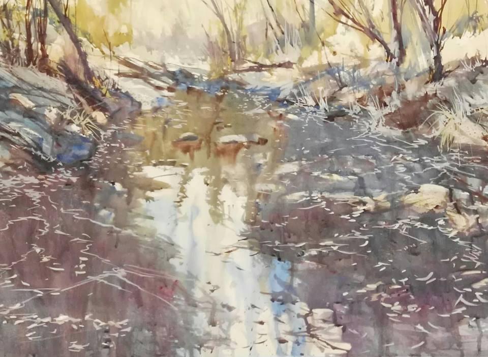 Creek Reflections, with Alan Ramachandran: Tuesday, April 9, 2019 at 10 AM – 4 PM
