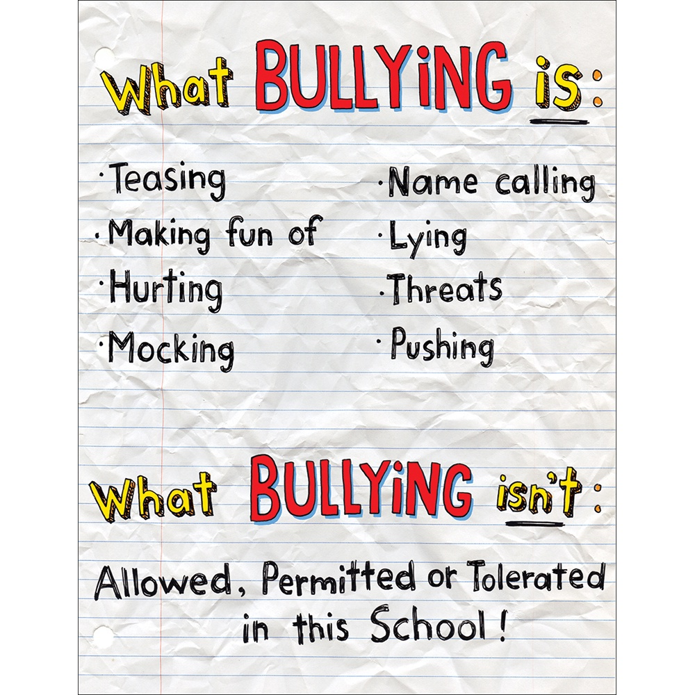 EU 837171 WHAT IS BULLYING POSTER
