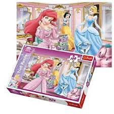 DISNEY PRINCESS PUZZLE 100 PCS
