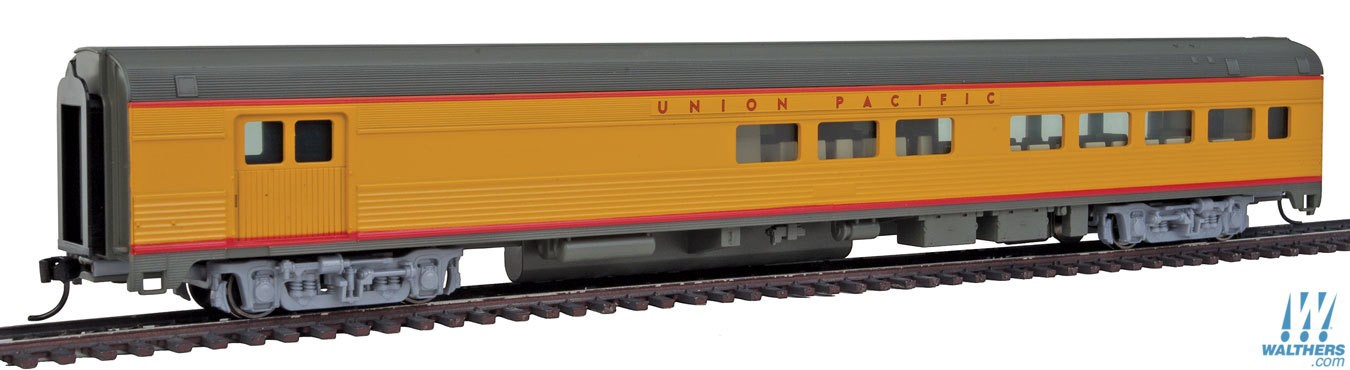Walthers Mainline #910-30058 85' Budd Baggage-Lounge Coach Union Pacfic