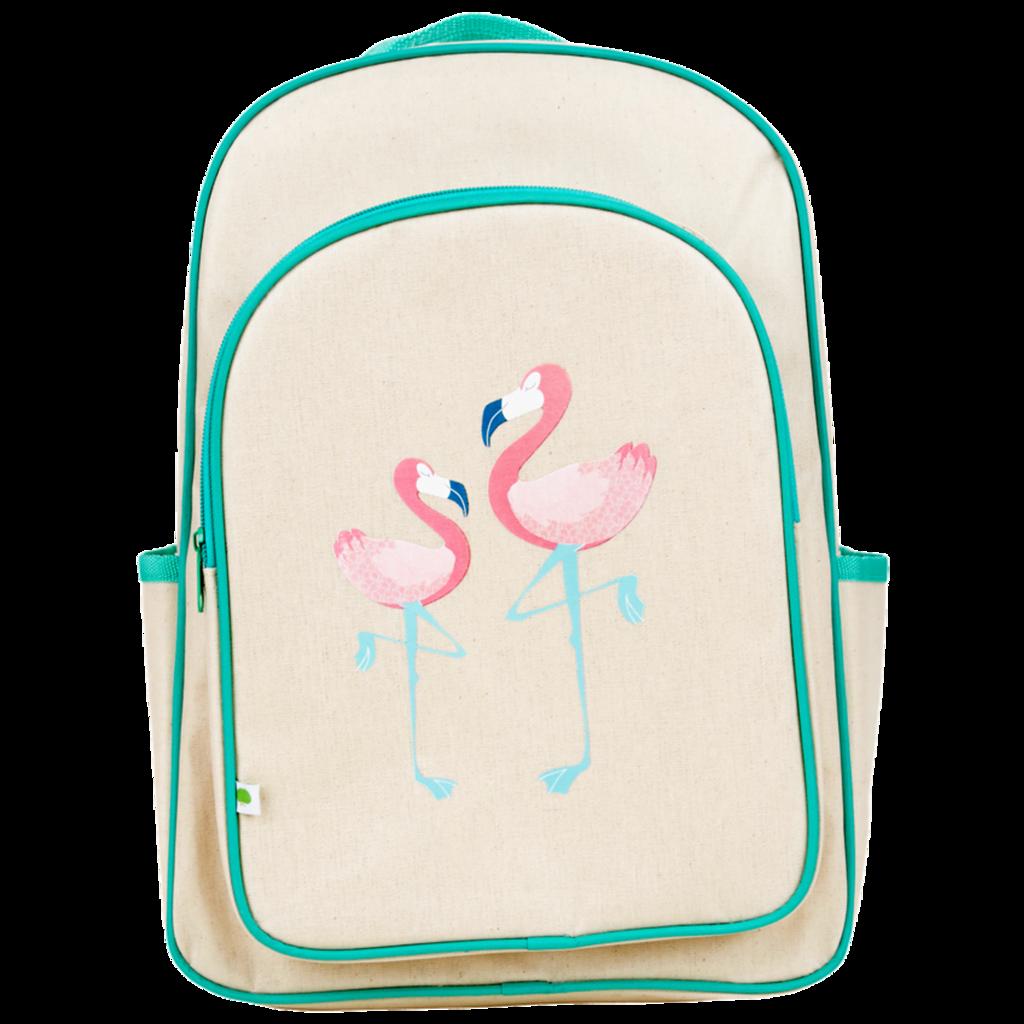 Apple and Mint Big Backpack - Flamingo