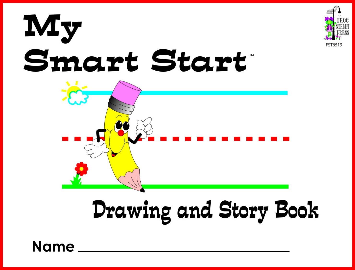 TCR 76519 MY SMART START DRAWING AND STORY BOOK