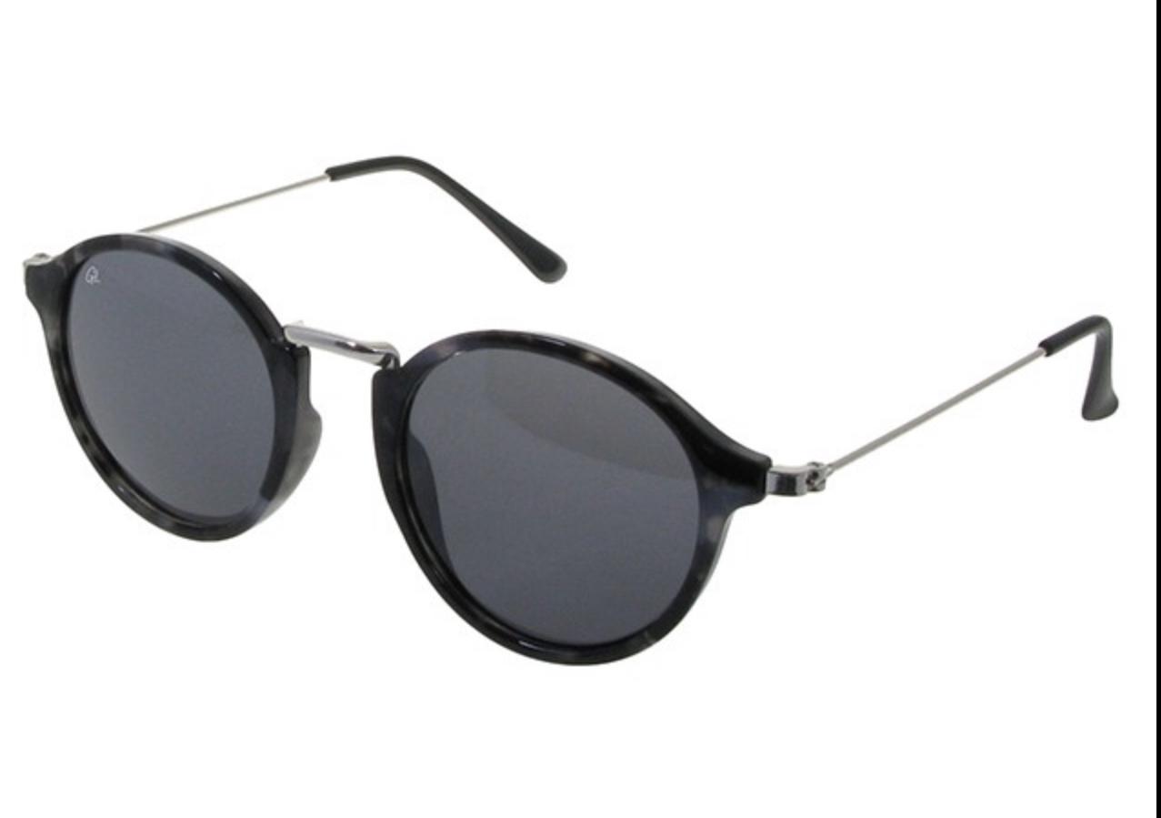 Retro Grey Tortoiseshell Sunglasses