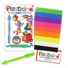 PLASTICINE 9 COLOR PLAY PACK