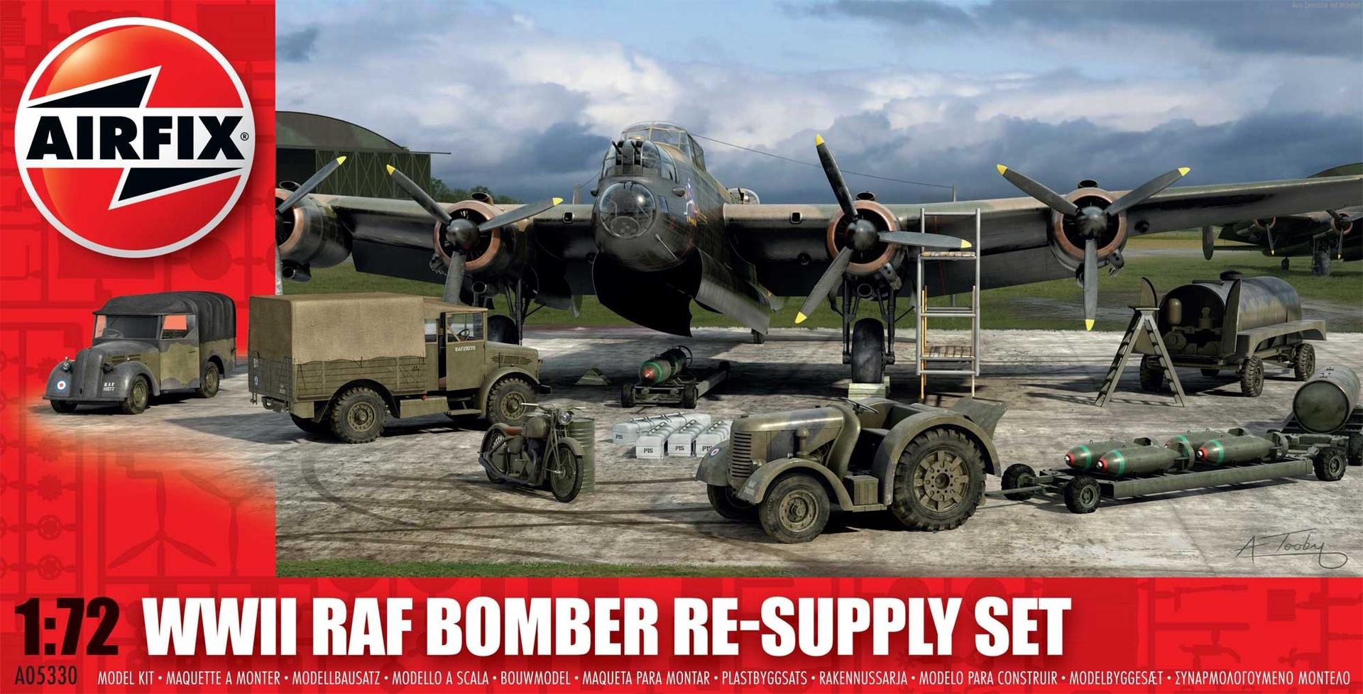 Airfix #A05330 1/72 WW11 RAF Bomber Re-Supply Set