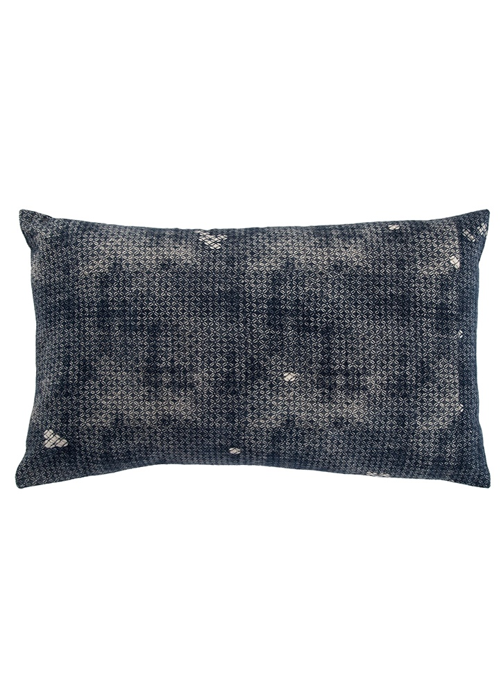 Mercado-Navy Pillow