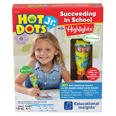 EI 6108 HOT DOTS JR SUCCEED IN SCHOOL W/HIGHLIGHTS