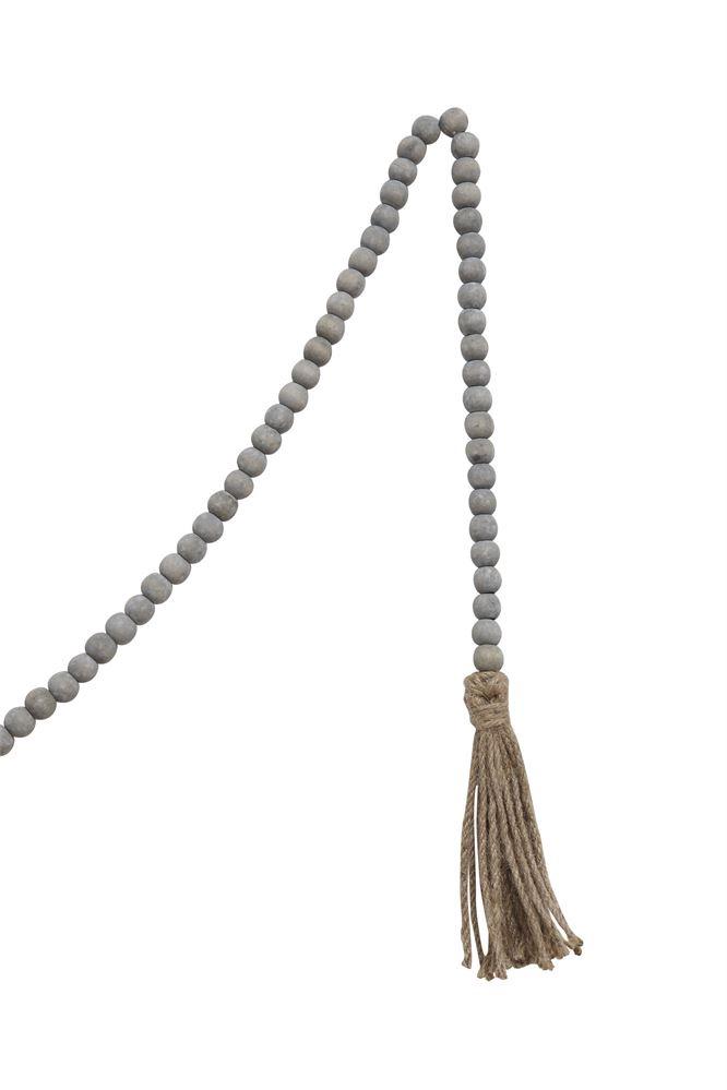 Tasseled Wooden Prayer Beads