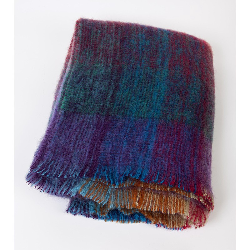 Mohair Multi Throw
