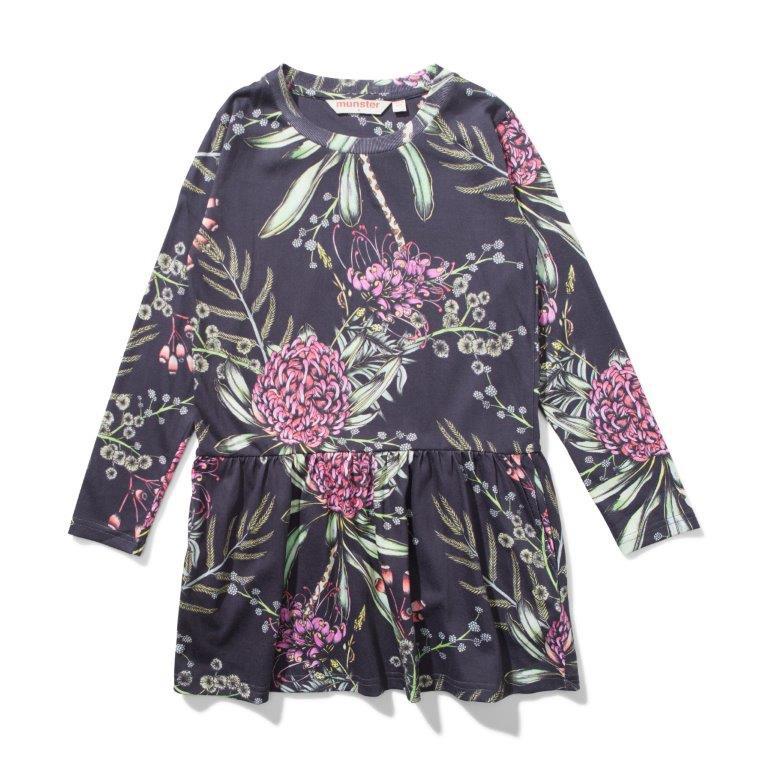 Missie Munster FLORA Long Sleeve Dress
