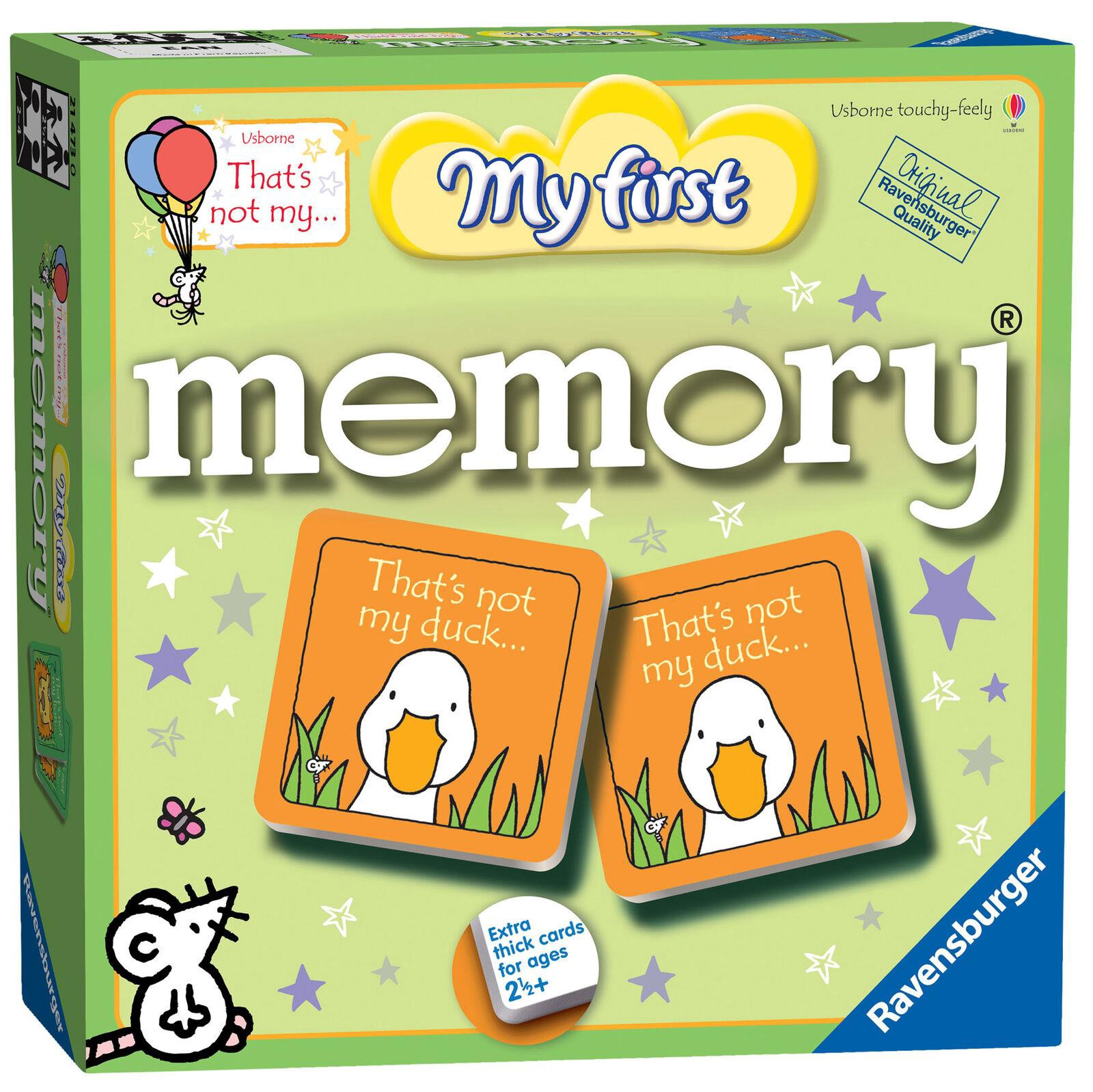 MY FIRST MEMORY GAME LARGE