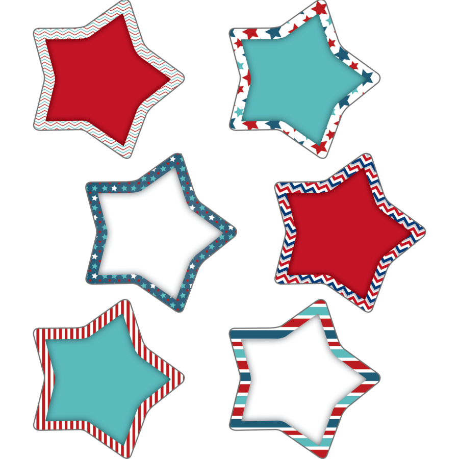 EP 60359 PATRIOTIC STARS CUTOUTS
