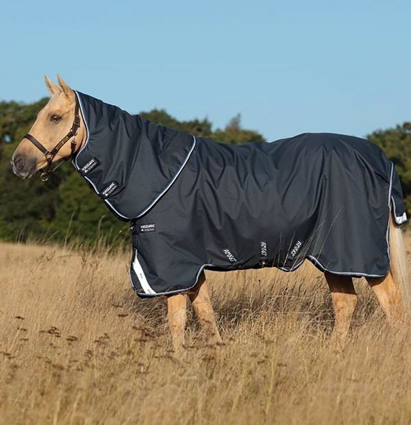 Horseware Amigo Bravo 12 Plus Lite 0g Navy/Blue, Strong Blue and Black