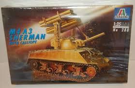 Italeri #288 1/35 M4 A3 Sherman with Calliope