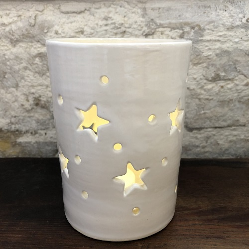 Star Luminary Votive | Tall 9 Stars