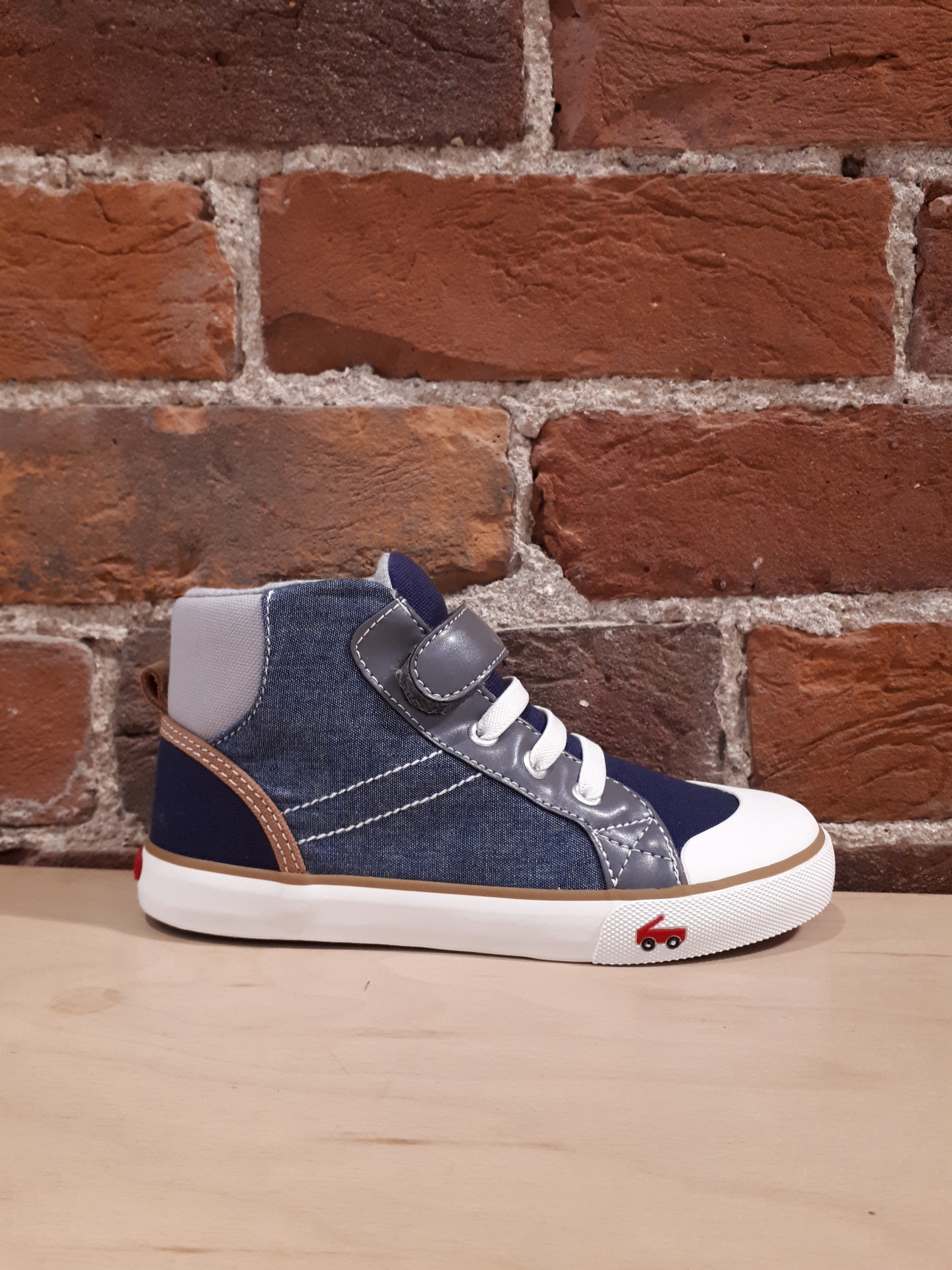 SEE KAI RUN - DANE IN CHAMBRAY MULTI (1-3)