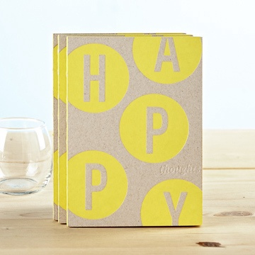 Happy Thoughts Book