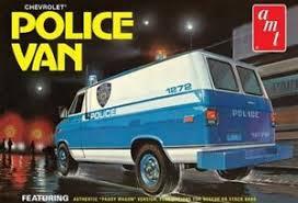 AMT# 1123 1/25 Chevrolet Police Van NYPD