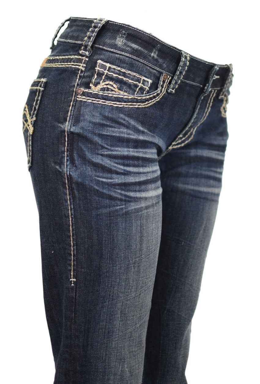 a66b8bf721e Cowgirl Tuff Women s Jeans  No Limits  Dark Wash CLEARANCE ...