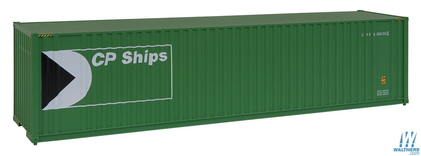 Walthers SceneMaster #949-8206 HO 40' Hi-Cube Container