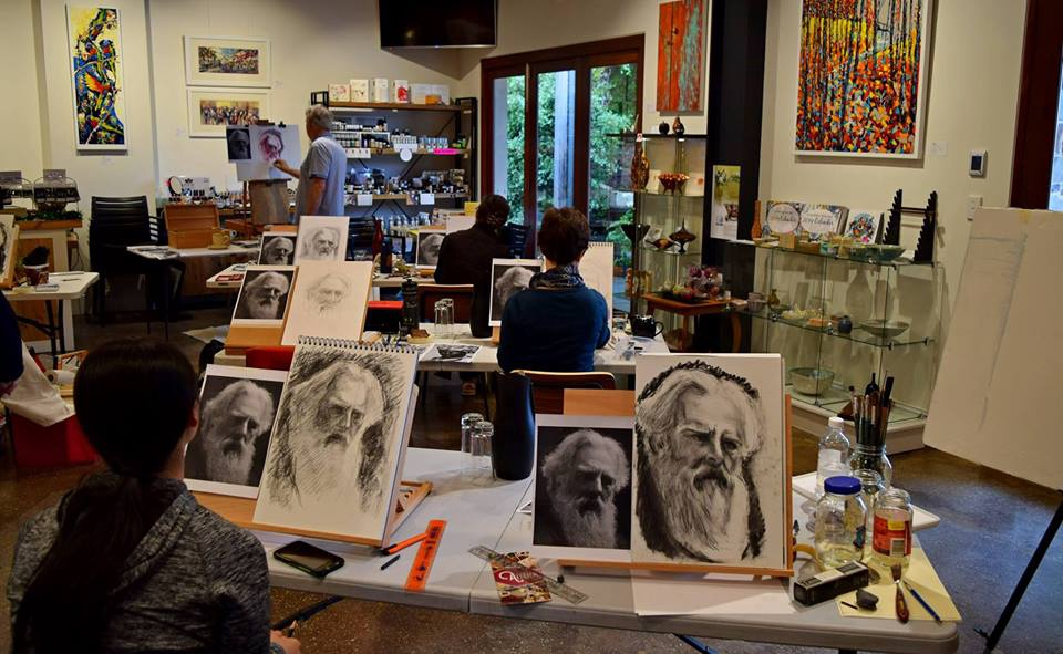 Portrait painting with Trevor Newman - Wednesday 7 August, 2019, 10am-4pm Hosted by Atelier Crafers, 1 Cox Place, Crafers