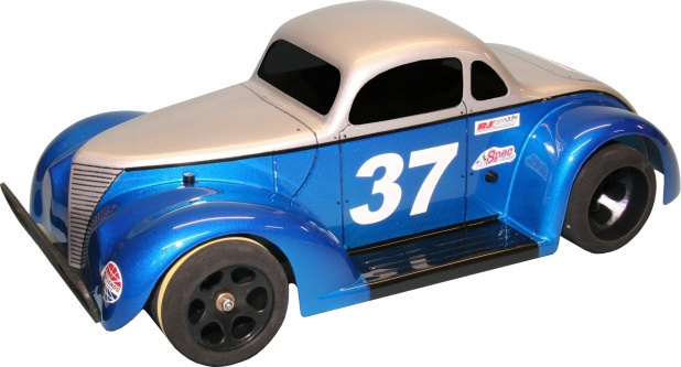 RJ Speed #1036 1/10 RC Legends 37F Coupe Body